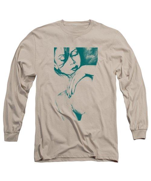 As Heaven Awaits - Celadon Long Sleeve T-Shirt