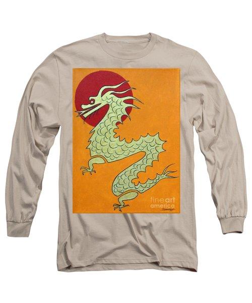 Asian Dragon Icon No. 1 Long Sleeve T-Shirt