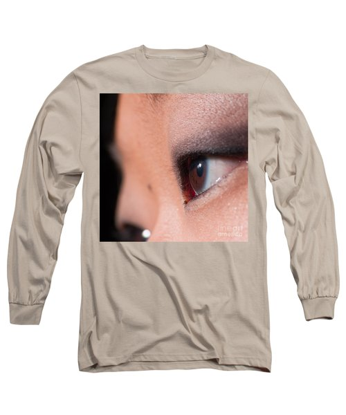 Asian Girl Eyes 1283053 Long Sleeve T-Shirt