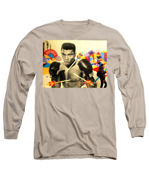 Asian Woman By Mohamed Ali In Brooklyn New York Long Sleeve T-Shirt