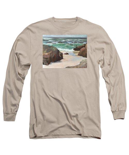 Asilamor Beach Monterey Ca Long Sleeve T-Shirt