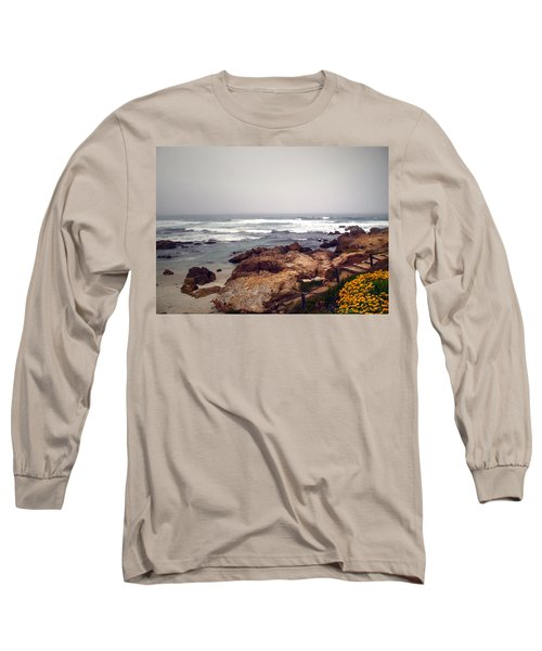 Asilomar Beach Pacific Grove Ca Usa Long Sleeve T-Shirt