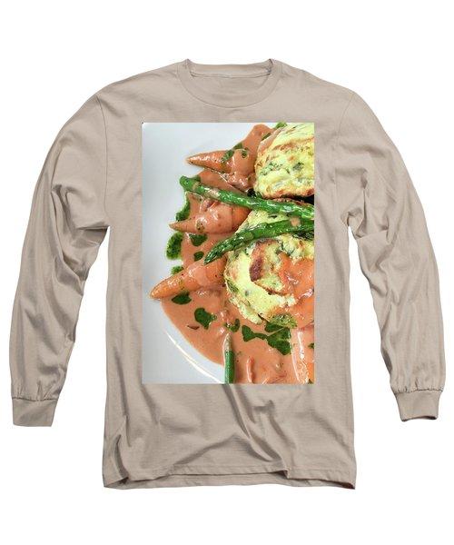 Asparagus Dish Long Sleeve T-Shirt