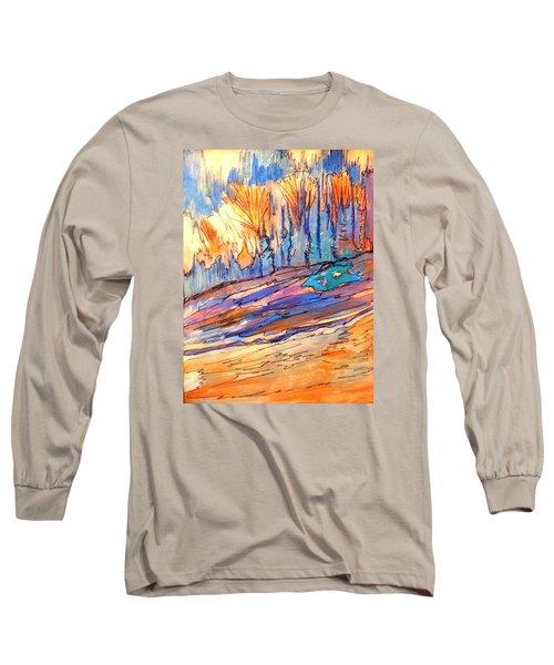 Aspen Abstract Long Sleeve T-Shirt
