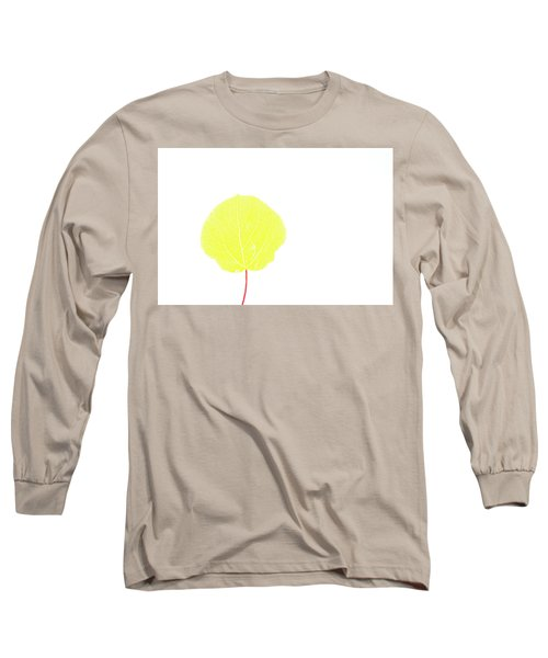 Aspen Yellow Long Sleeve T-Shirt
