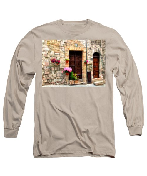 Assisi Doorways Long Sleeve T-Shirt