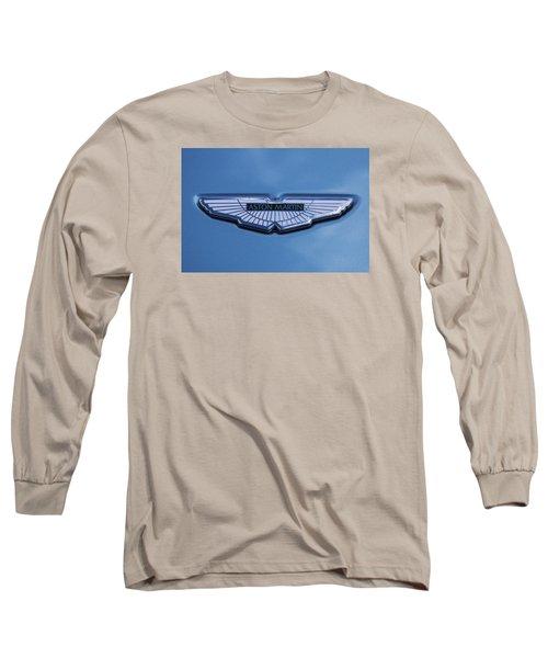 Aston Martin Long Sleeve T-Shirt by Scott Carruthers
