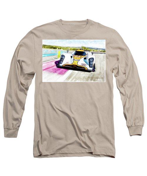 Aston Martin Vantage 009 Long Sleeve T-Shirt by Michael Cleere