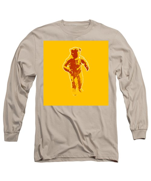 Astronaut Graphic Long Sleeve T-Shirt