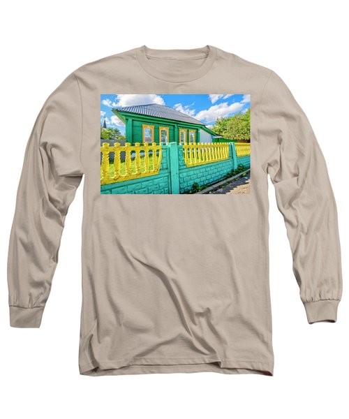 At Home In Belarus Long Sleeve T-Shirt