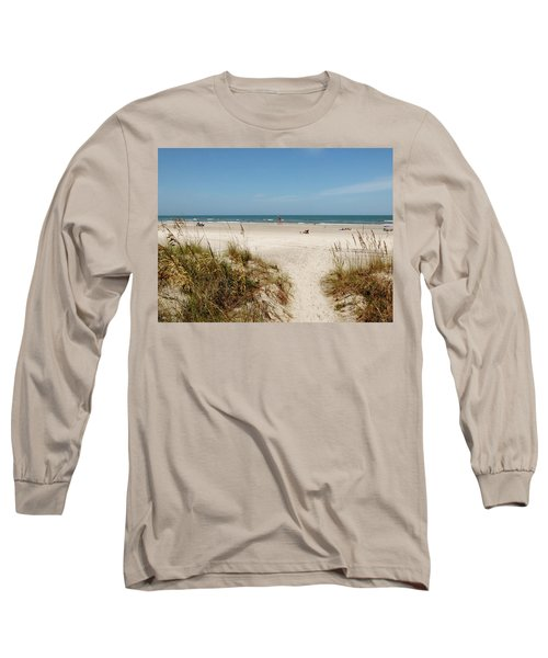 On The Beach Long Sleeve T-Shirt by Amar Sheow