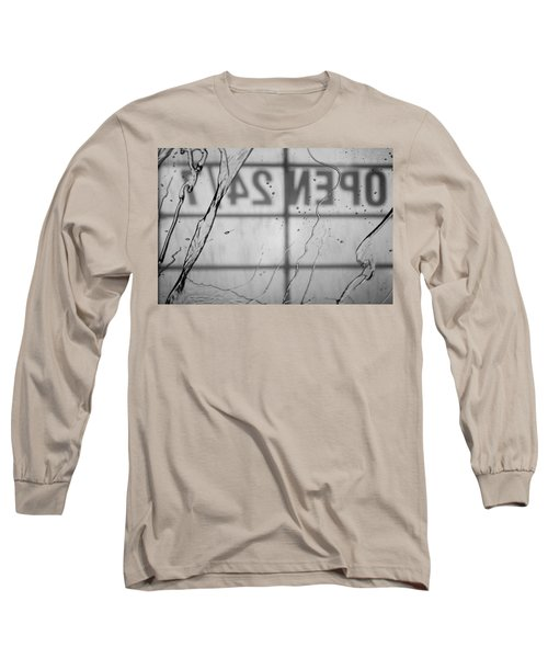 Long Sleeve T-Shirt featuring the photograph At The Car Wash by Colleen Coccia