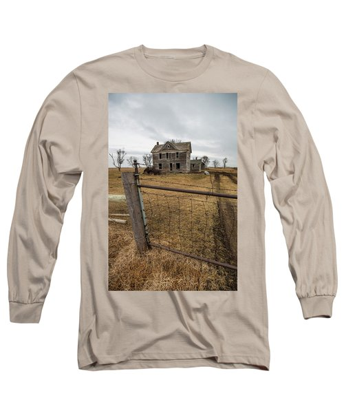 Long Sleeve T-Shirt featuring the photograph At The Gate  by Aaron J Groen