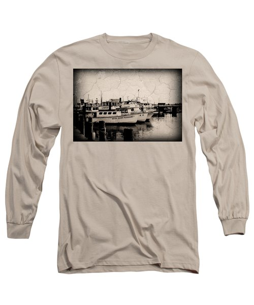 At The Marina - Jersey Shore Long Sleeve T-Shirt
