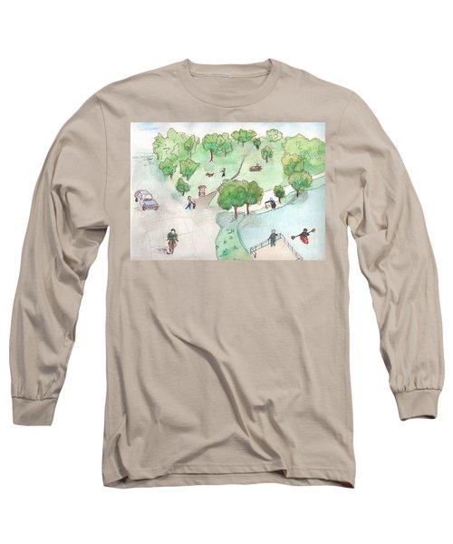 At The Park Long Sleeve T-Shirt