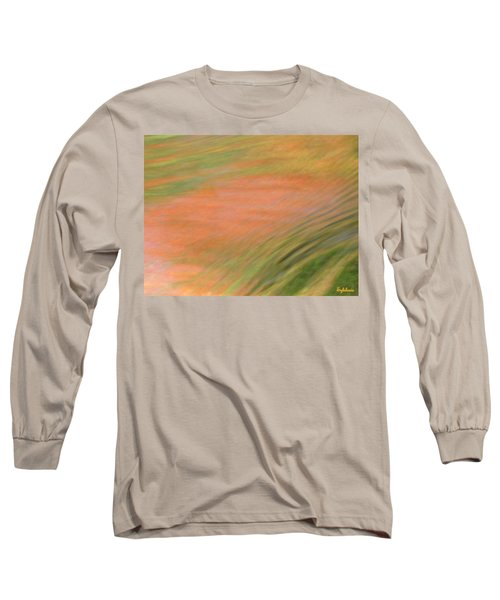 At The Subtle Feeling Level Long Sleeve T-Shirt