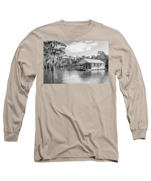 Atchafalaya Basin Fishing Camp Long Sleeve T-Shirt