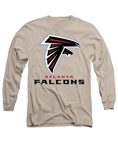 Atlanta Falcons Translucent Steel Long Sleeve T-Shirt