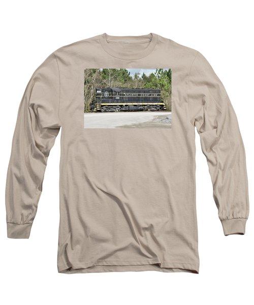 Atlantic Coast Line Gp7 #100 Long Sleeve T-Shirt by John Black