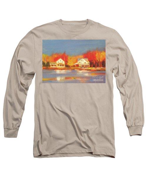 Atsion Lake Long Sleeve T-Shirt by Mary Hubley