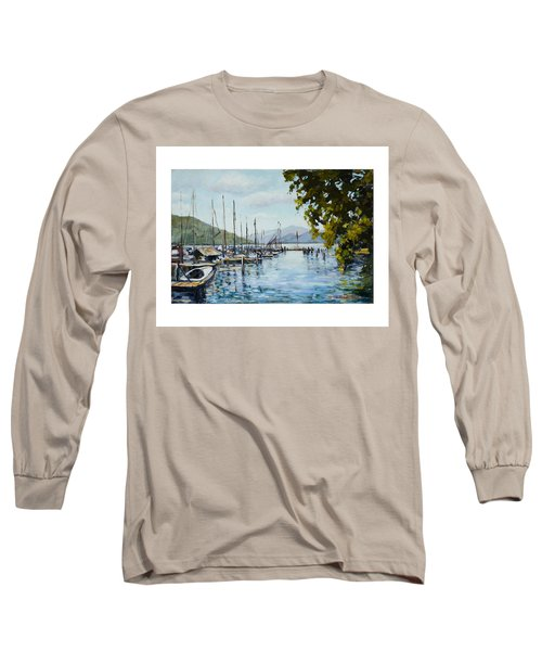 Attersee Austria Long Sleeve T-Shirt by Alexandra Maria Ethlyn Cheshire