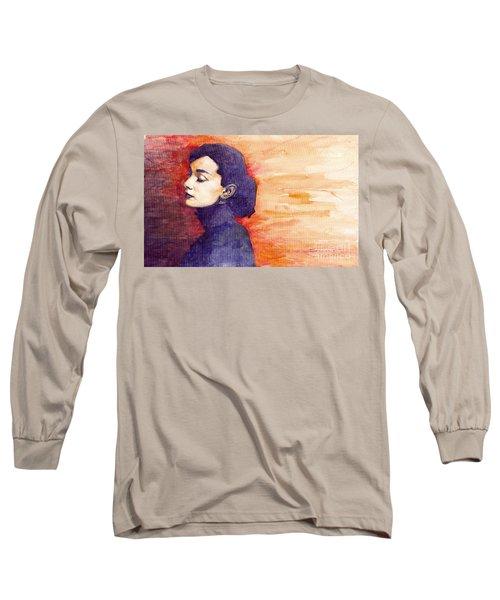 Audrey Hepburn 1 Long Sleeve T-Shirt