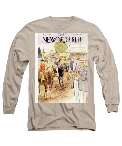 New Yorker August 25 1951 Long Sleeve T-Shirt