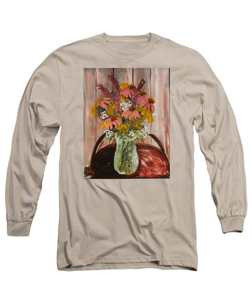 August Flowers Long Sleeve T-Shirt