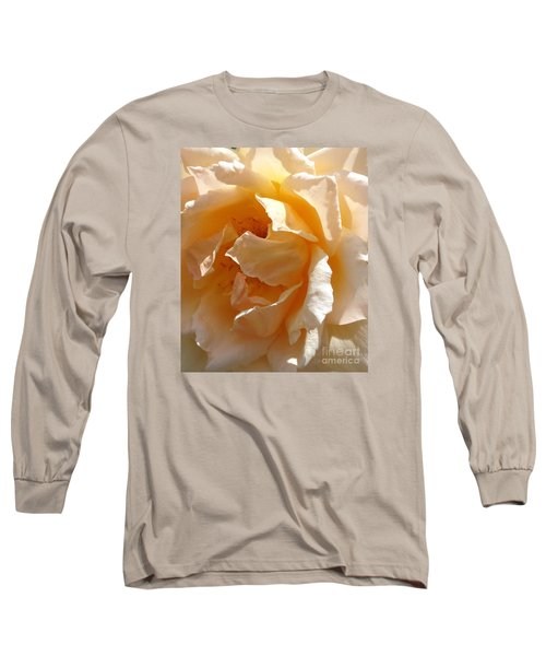August Rose 1 Long Sleeve T-Shirt by Fred Wilson