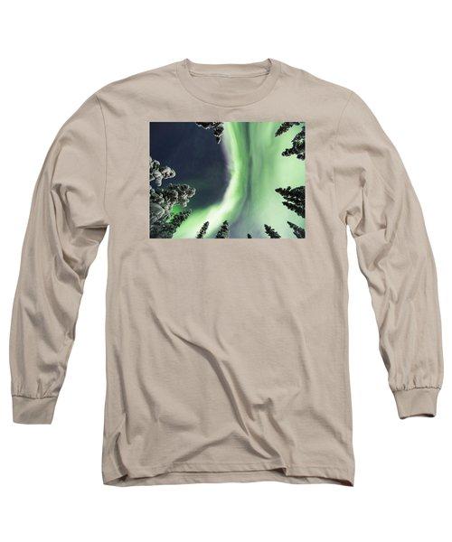 Aurora Lying On Your Back Long Sleeve T-Shirt