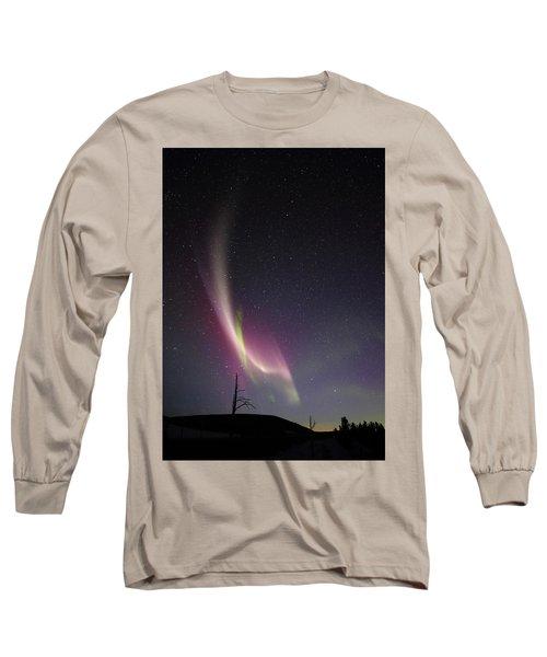 auroral Phenomonen known as Steve, 5 Long Sleeve T-Shirt