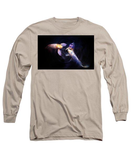 Auspicious Three Long Sleeve T-Shirt