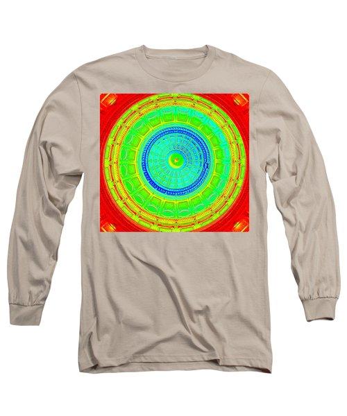 Austin Dome - C Long Sleeve T-Shirt by Karen J Shine