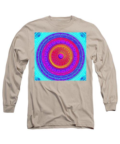Austin Dome - D Long Sleeve T-Shirt by Karen J Shine