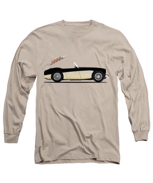 Austin Healey 3000 Long Sleeve T-Shirt by Mark Rogan