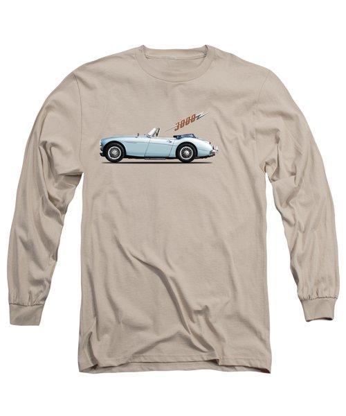 Austin Healey 3000 Mk3 Long Sleeve T-Shirt by Mark Rogan