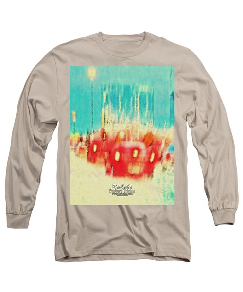 Austin Traffic Long Sleeve T-Shirt by Barbara Tristan