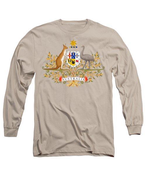Australia Coat Of Arms Long Sleeve T-Shirt