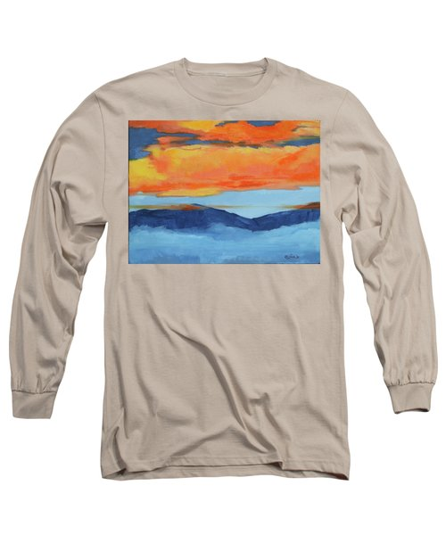Autumn Alpenglow Long Sleeve T-Shirt