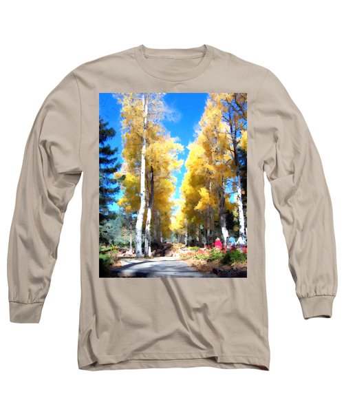 Autumn Aspens Long Sleeve T-Shirt