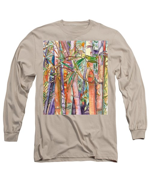 Autumn Bamboo Long Sleeve T-Shirt