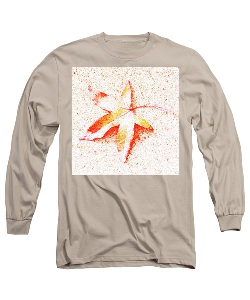 Autumn Leaf Art Long Sleeve T-Shirt
