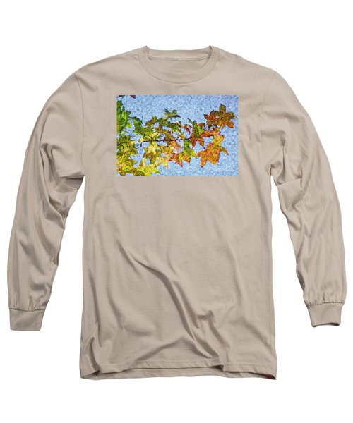 Long Sleeve T-Shirt featuring the photograph Autumn Leaves 2 by Jean Bernard Roussilhe