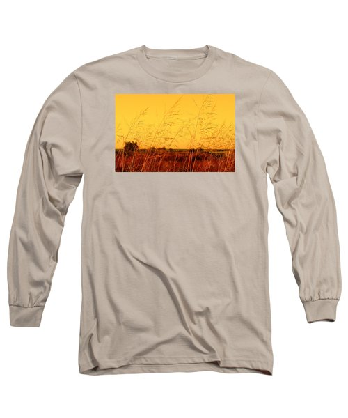 Long Sleeve T-Shirt featuring the photograph Autumn by Milena Ilieva