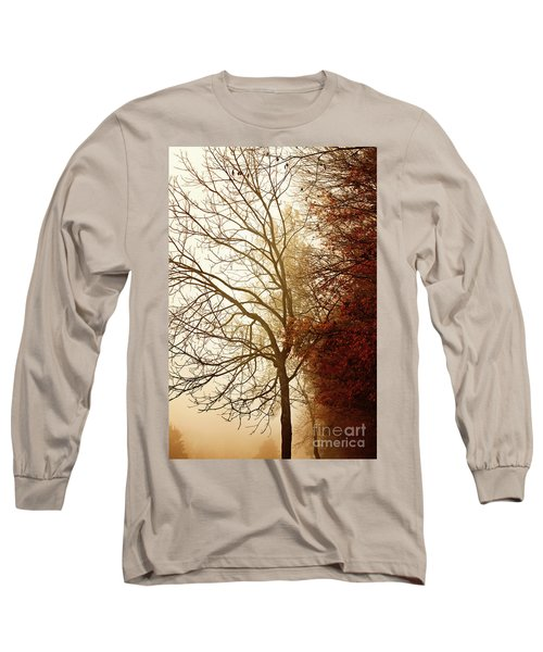 Long Sleeve T-Shirt featuring the photograph Autumn Morning by Stephanie Frey
