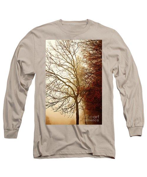 Autumn Morning Long Sleeve T-Shirt by Stephanie Frey