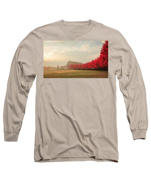 Autumn On Art Hill Long Sleeve T-Shirt