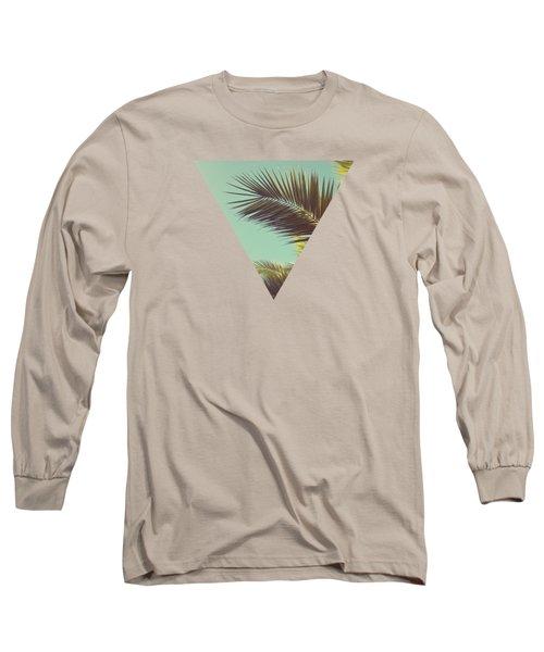 Autumn Palms Long Sleeve T-Shirt