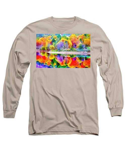 Autumn Panorama Long Sleeve T-Shirt