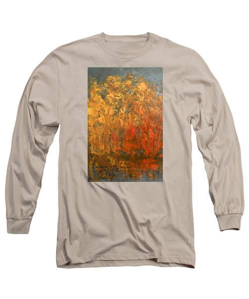 Autumn Reflections 1 Long Sleeve T-Shirt by Jane See
